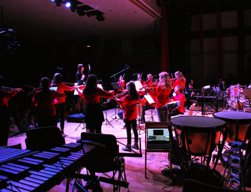 Projekcija za glasbeno šolo Radovljica