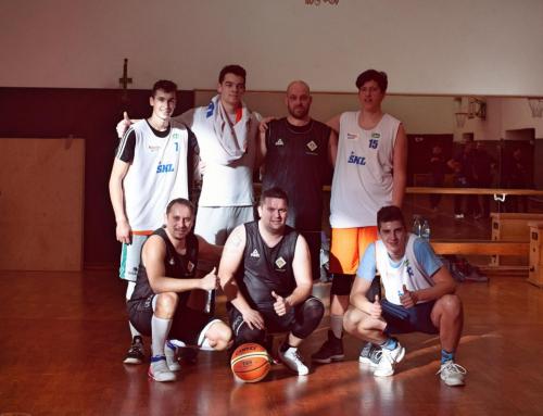 Košarkarska tekma na EGSŠ