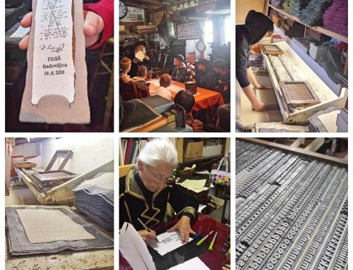 Delavnica starodobnega tiska