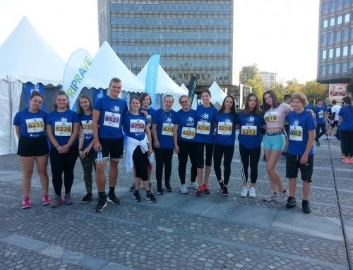 Ljubljanski maraton, šolski tek