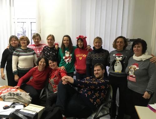 Božični puloverji preplavili šolo