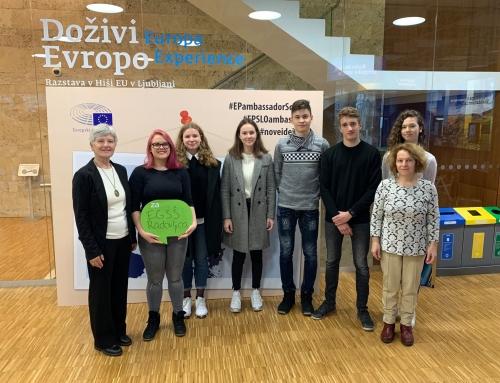 Sodelovanje na Evrošoli 2019