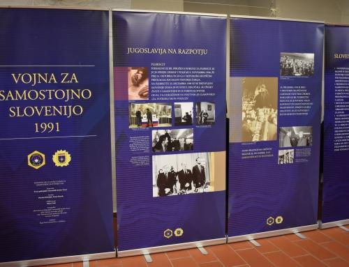 Slovesna otvoritev razstave Vojna za samostojno Slovenijo 1991
