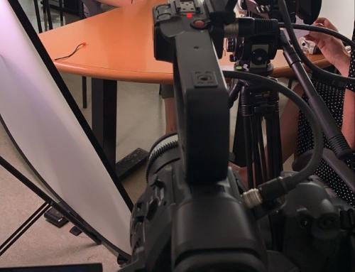 Snemanje dokumentarnega filma na šoli