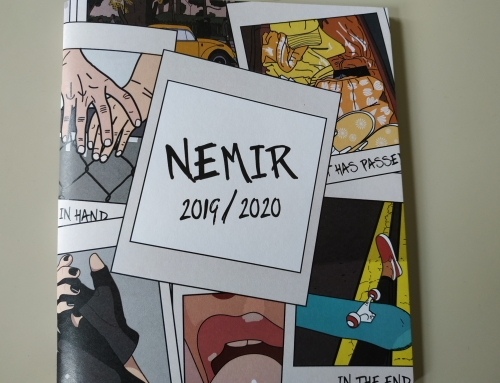 Pesniška zbirka Nemir