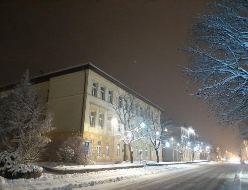 Prvi sneg in adventni čas
