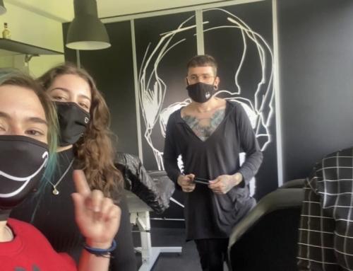 Obisk tetoverja na Bledu